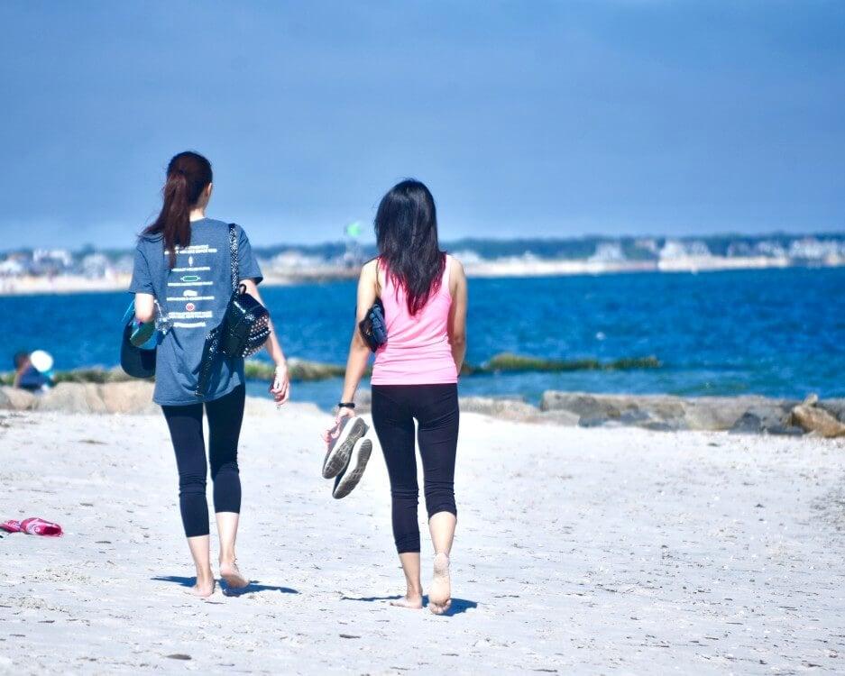bipolar rehab in San Diego by the sea women walking mat medication assisted treatment mental disorder schizophrenia bipolar