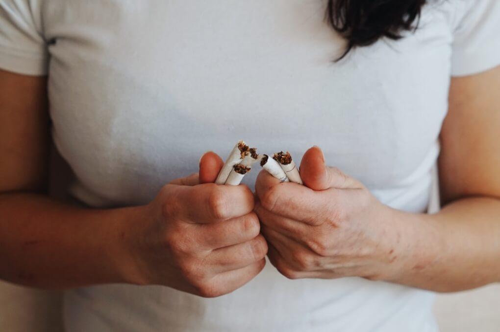 stop smoking nominated addiction dual diagnosis tabacco woman white shirt bipolar stress anxiety treatment sd